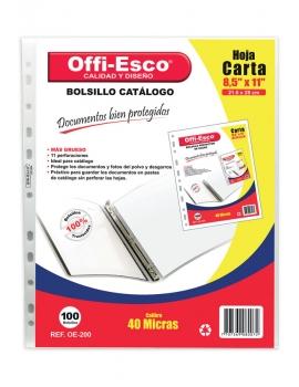 BOLSILLO CATALOGO CARTA OE-200 PQX100