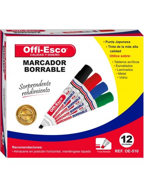 MARCADOR BORRABLE  OE- 510 DISPLAY x 12